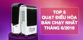 Top 5 quạt điều hòa bán chạy nhất Điện máy XANH 06/2019