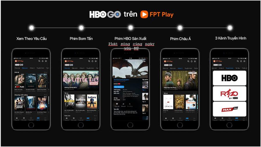 HBO Go trên FPT Play