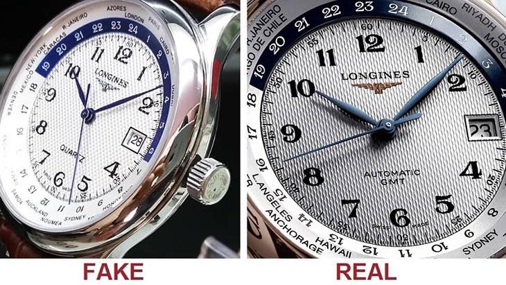 Cách nhận biết đồng hồ là hàng giả