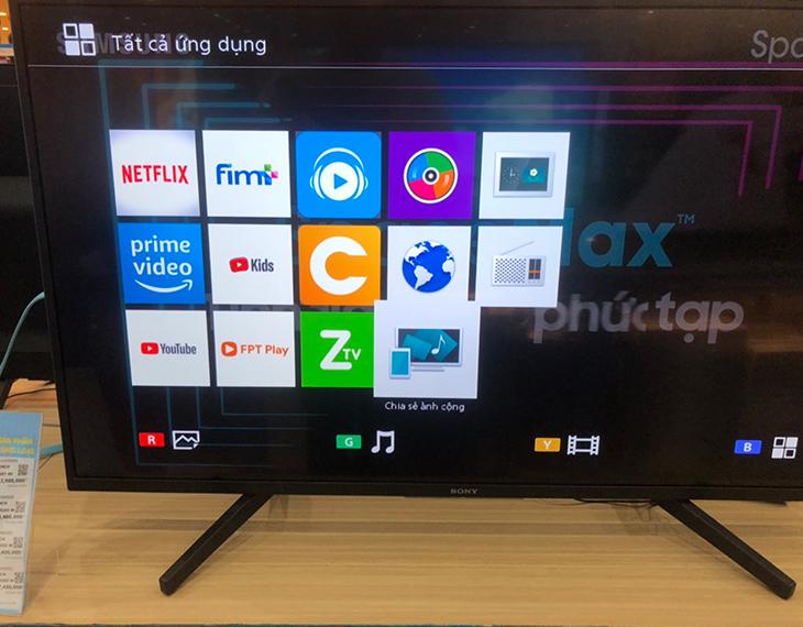 Thông báo chấm dứt VEWD TV Store trên Tivi Sony mẫu năm 2012 đến 2018