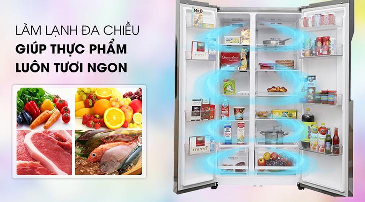 thay tủ lạnh mới về công nghệ làm lạnh
