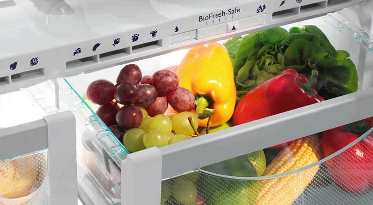 Kiểm tra các ngăn chuyên dụng của tủ lạnh