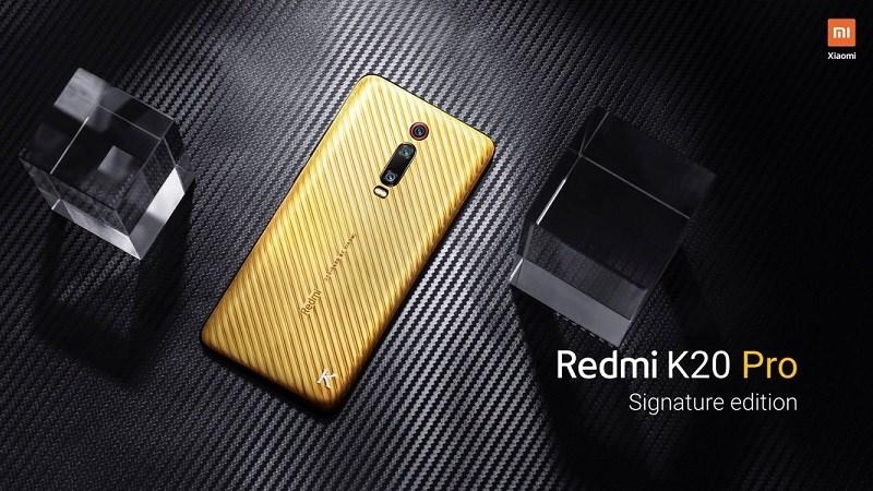 Xiaomi Redmi K20 Pro Signature Edition ra mắt: Làm bằng vàng và kim cương