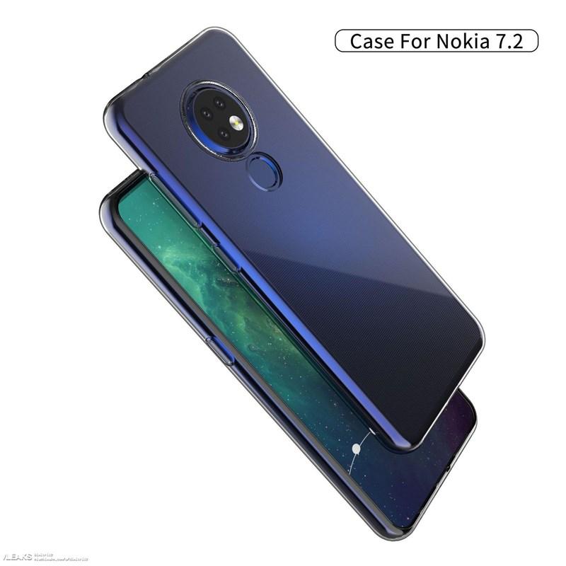 Nokia 7.2 lộ trọn thiết kế thông qua ốp lưng - ảnh 3