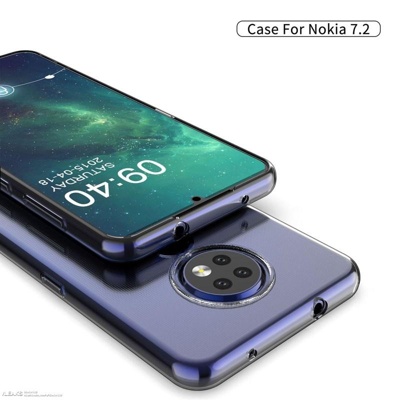 Nokia 7.2 lộ trọn thiết kế thông qua ốp lưng - ảnh 4