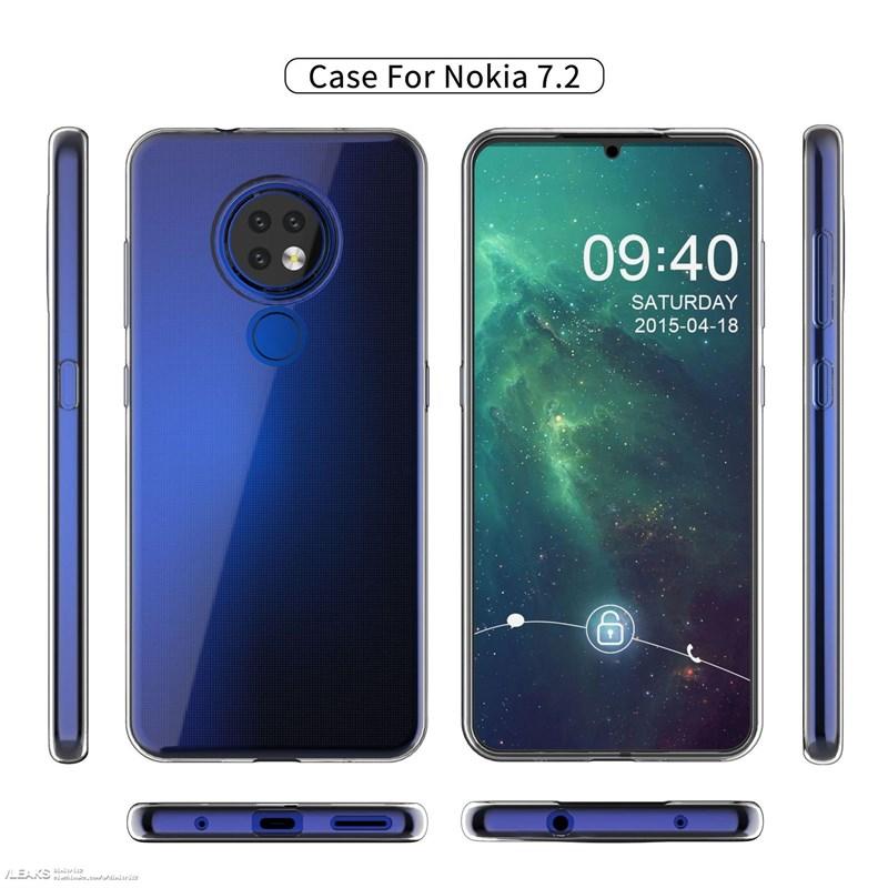 Nokia 7.2 lộ trọn thiết kế thông qua ốp lưng - ảnh 2