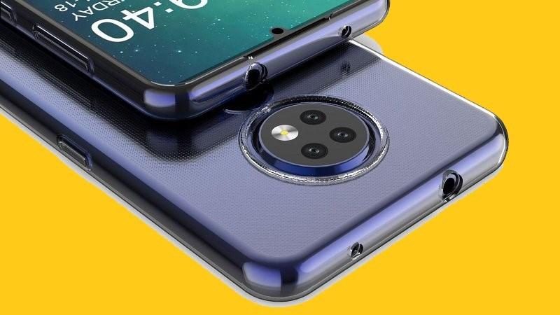 Nokia 7.2 lộ trọn thiết kế thông qua ốp lưng