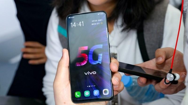Vivo V1916A hỗ trợ 5G và sạc nhanh 44W được cơ quan 3C chứng nhận