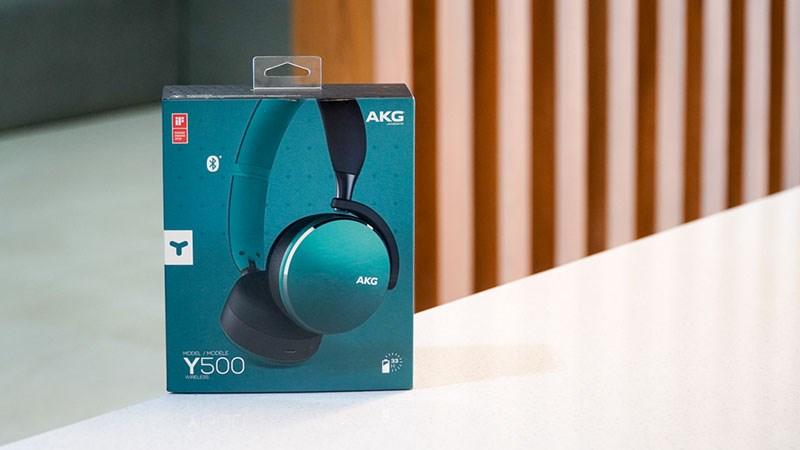 Đánh giá tai nghe AKG Y500