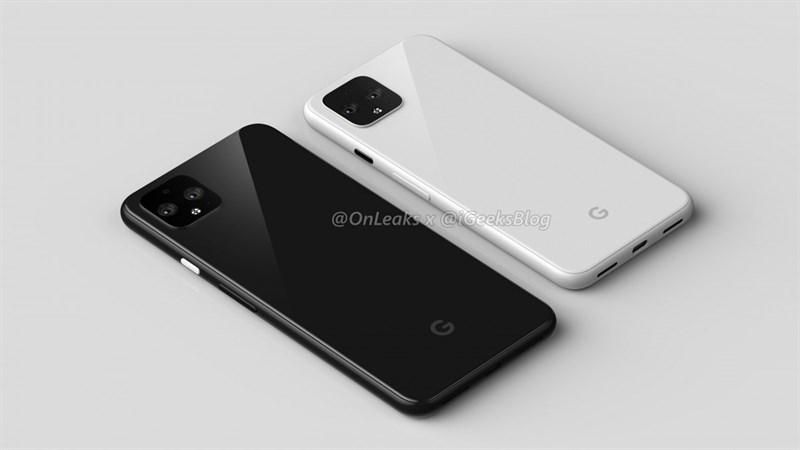 Google Pixel 4 và Pixel 4 XL lộ ảnh render sắc nét, bộ camera giống iPhone 2019?