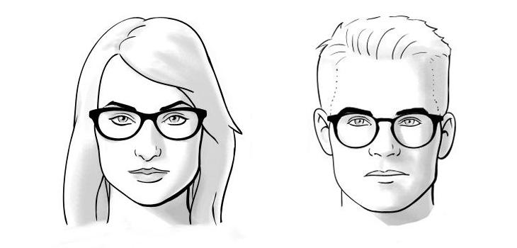 chọn mắt kính phù hợp với khuôn mặt vuông