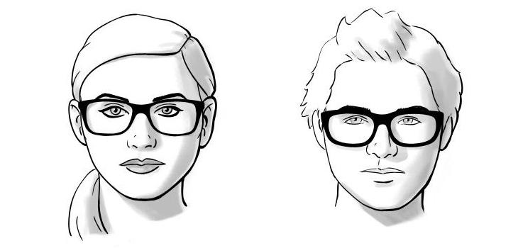 chọn mắt kính phù hợp với khuôn mặt tròn