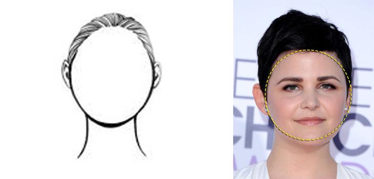 Cách xác định hình dạng khuôn mặt tròn
