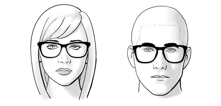 chọn mắt kính phù hợp với khuôn mặt trái xoan
