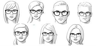 Cách chọn mắt kính phù hợp với từng loại khuôn mặt và da