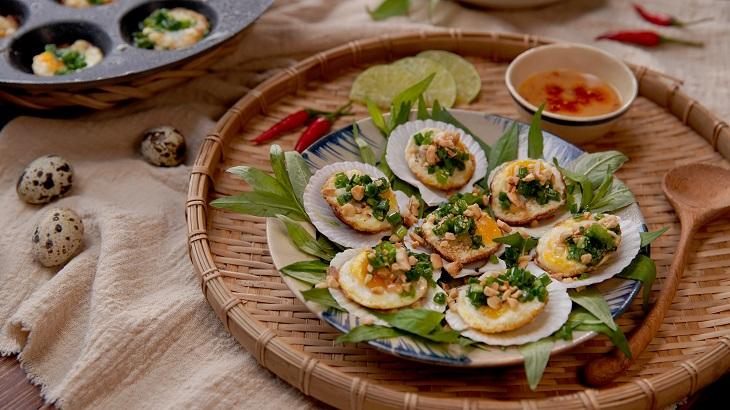[Video] Cách làm sò điệp trứng cút dễ làm, ngon như ngoài hàng