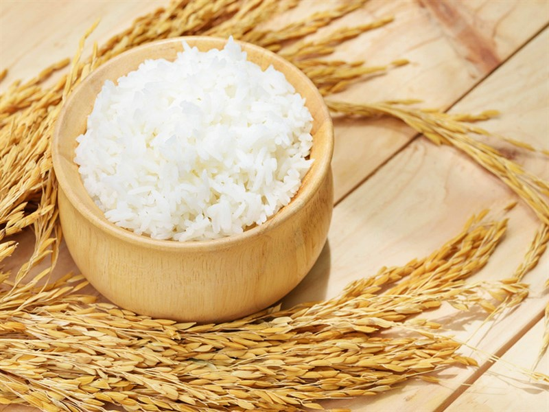 Gạo trắng là nguồn lương thực chính của người Việt