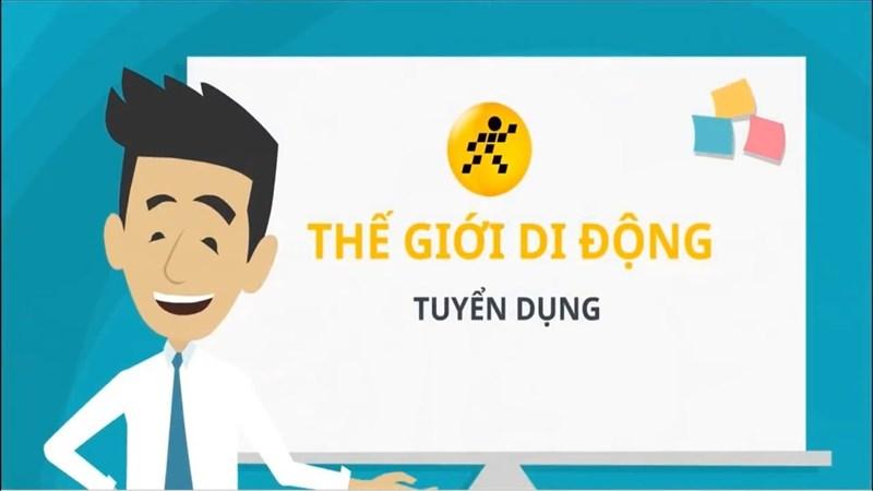 Tuyển Thực tập sinh website Thegioididong.com, DienmayXANH.com và dự án mới