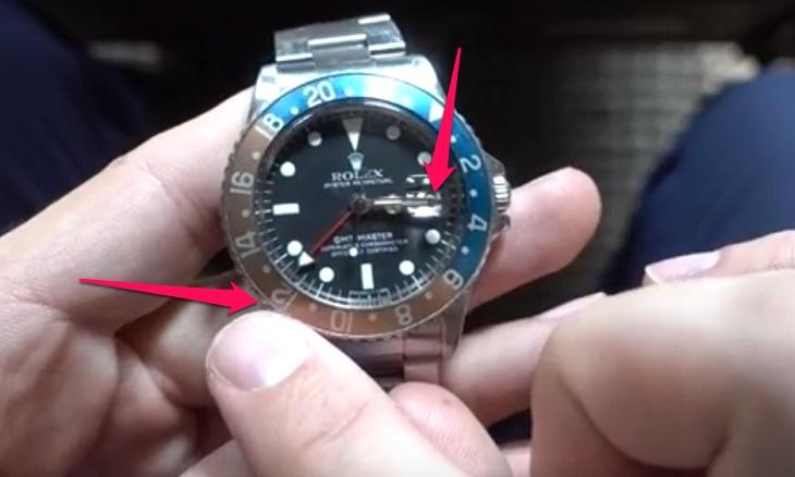 cách xem đồng hồ gmt