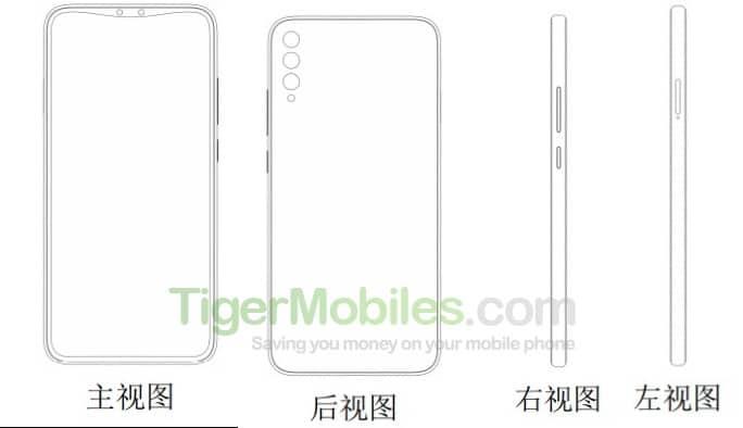 Concept smartphone Xiaomi có ba camera dọc ở mặt sau và camera selfie kép ở mặt trước