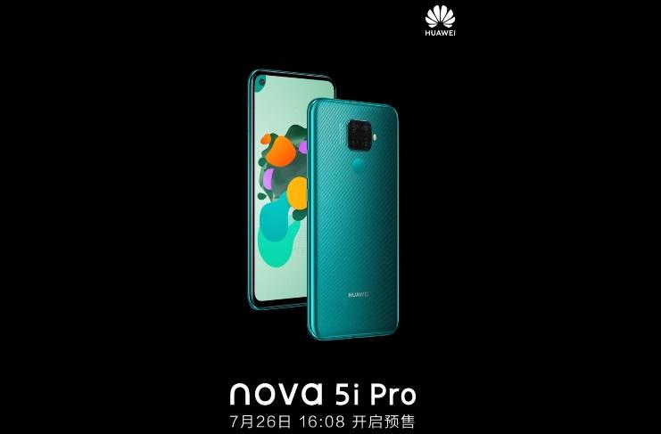 Huawei Nova 5i Pro chính thức ấn định ngày ra mắt