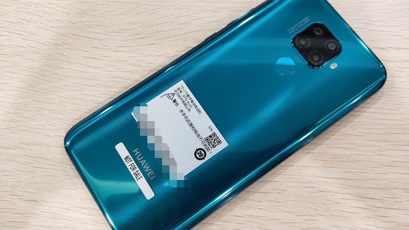Hình ảnh thực tế của Huawei Nova 5i Pro rò rỉ gần đây