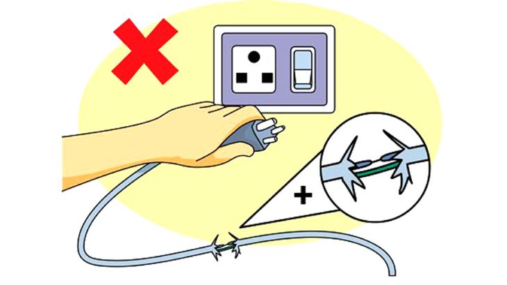 An toàn về điện khi sử dụng