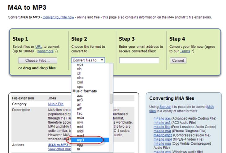 Hướng dẫn cách convert (chuyển) đuôi file m4a sang mp3 nhanh