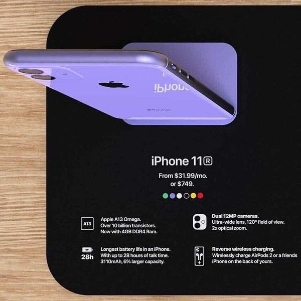 iPhone 11r bất ngờ lộ ảnh kèm giá bán, cấu hình chi tiết