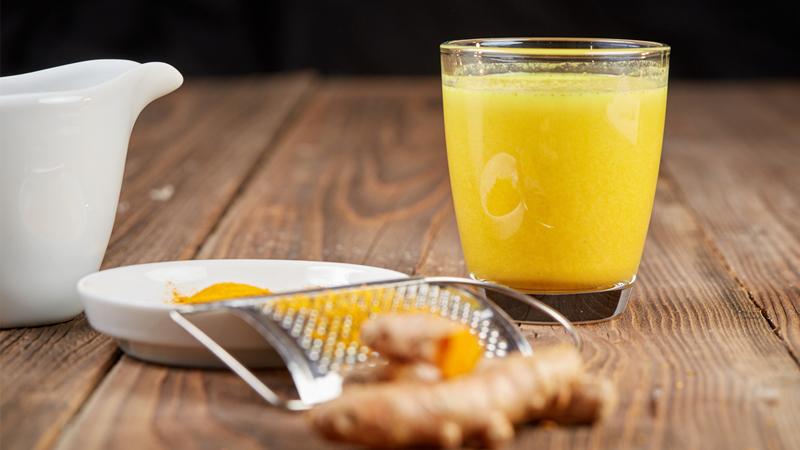 Chỉ cần uống tinh bột nghệ đúng cách là cân nặng sẽ tăng lên nhanh chóng