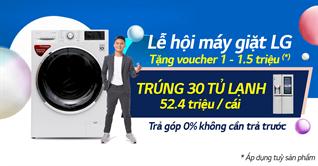 Mua tủ lạnh, máy giặt LG trúng ngay tủ lạnh LG