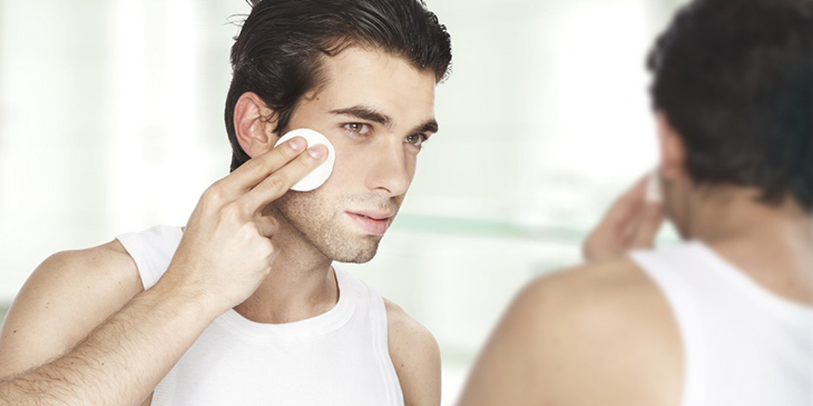 Chăm sóc da mặt sau khi cạo