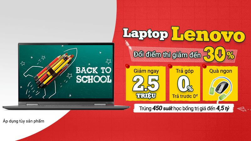 Laptop Lenovo ưu đãi