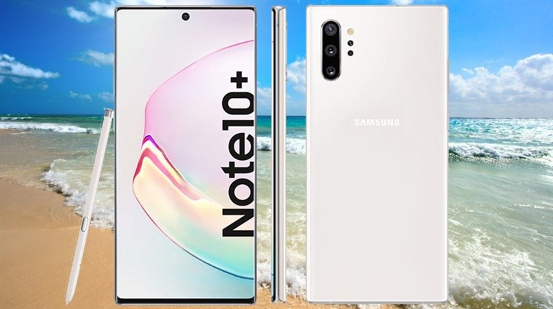 Đây là các tùy chọn màu sắc của Samsung Galaxy Note 10