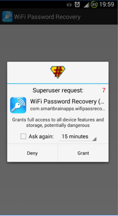 ứng dụng Wifi Password Recovery