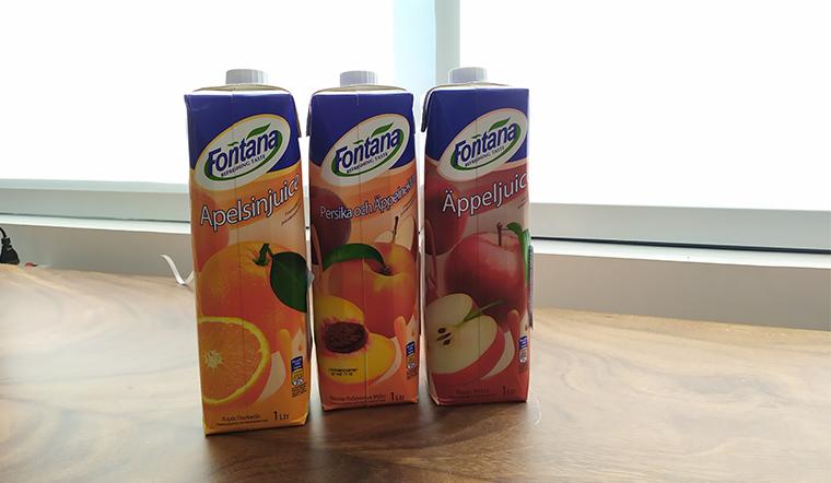 Nước trái cây Fontana, vitamin tự nhiên cho người bận rộn
