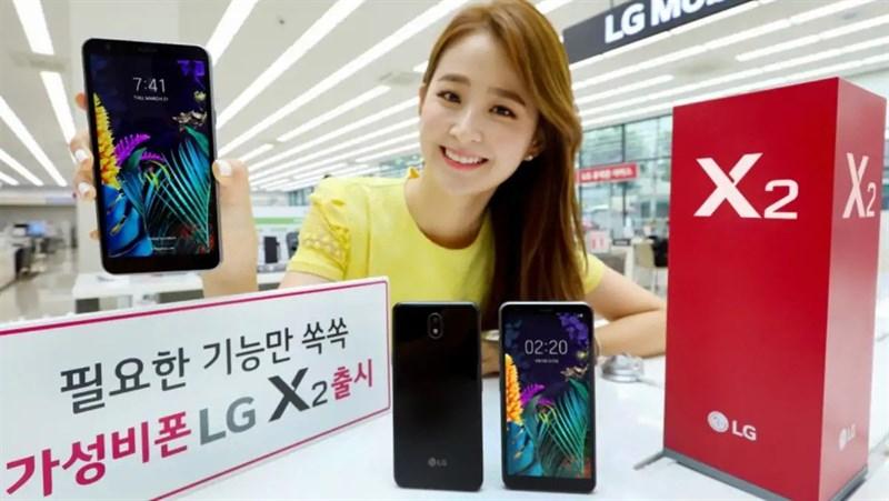 LG trình làng smartphone giá rẻ LG X2/K30 (2019)
