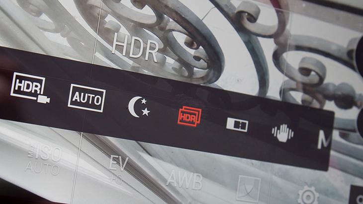 Chế độ chụp HDR