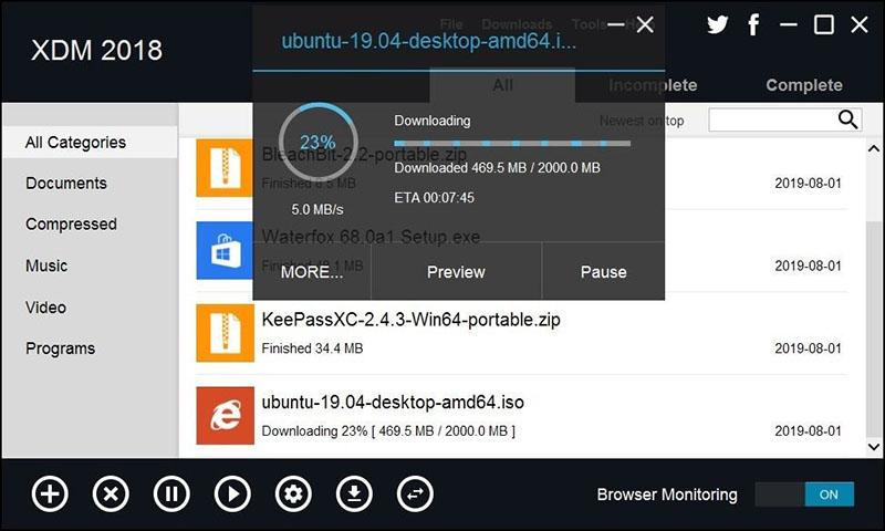 Cách tăng tốc độ download siêu nhanh cho Windows, macOS,