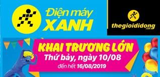 Khai trương Siêu thị Điện máy XANH Chợ Trúc, Tĩnh Gia, Thanh hóa