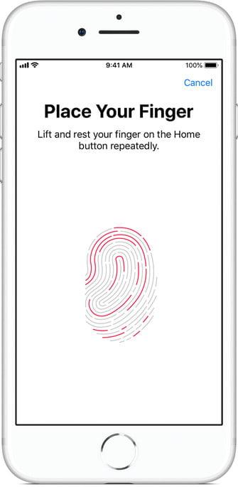 Sử dụng Face ID hoặc Touch ID để khôi phục dữ liệu Iphone
