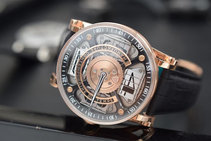 Đồng hồ mặt kính sapphire
