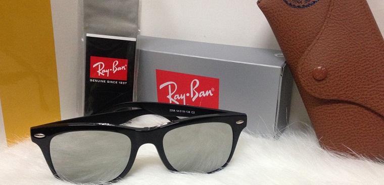 Cách nhận biết mắt kính RayBan hàng xịn, chính hãng