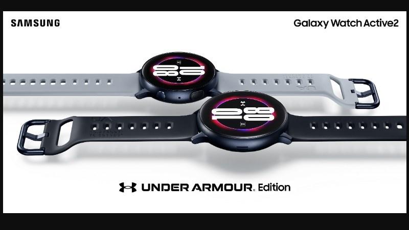 Samsung ra mắt Galaxy Watch Active 2 phiên bản Under Armour