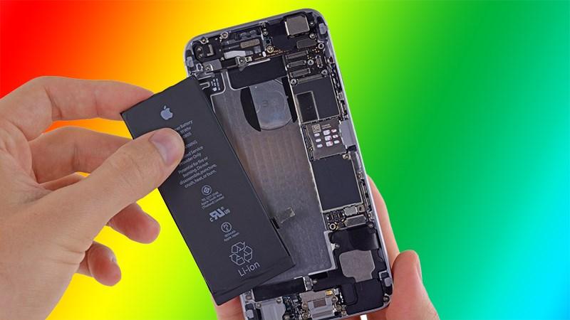 Kiểm tra pin iPhone chính hãng