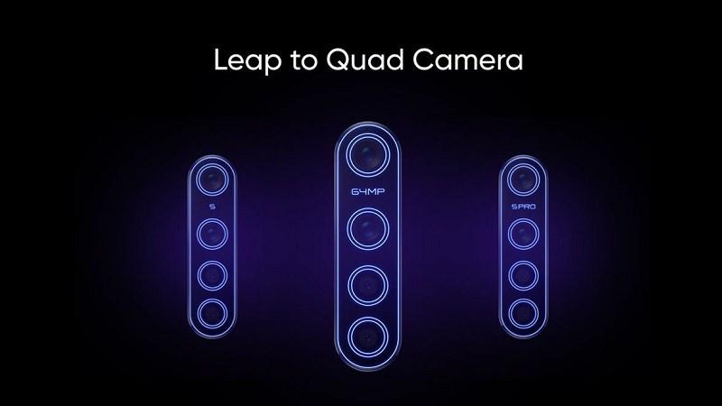 3 smartphone Realme mới có 4 camera sau sẽ ra mắt vào tháng 10