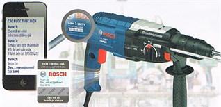 Hướng dẫn tra cứu bảo hành sản phẩm Bosch