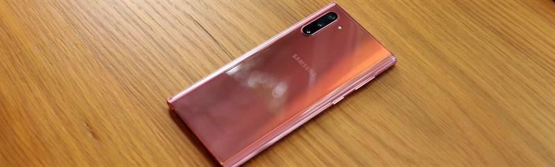 Galaxy Note 10 hồng
