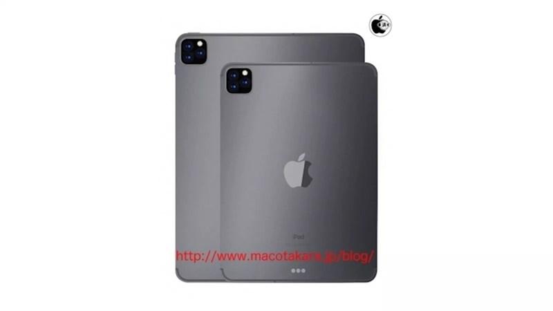 iPad Pro 2019 sẽ có 3 camera mặt sau tương tự như iPhone 11
