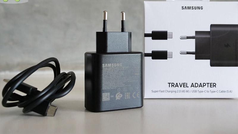 Củ sạc 45W của Samsung nhanh đến mức nào?